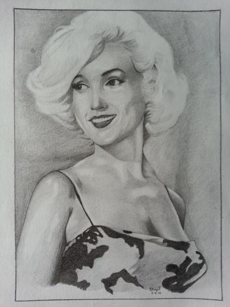 Marilyn Monroe por shajil.v.p